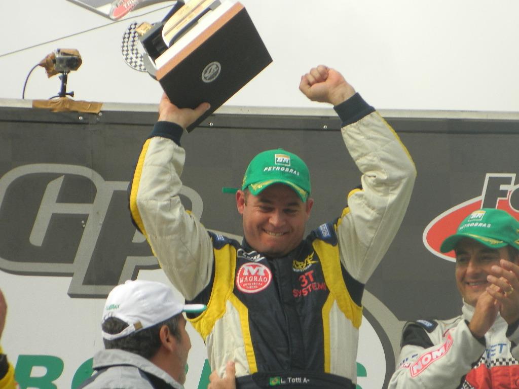 Leandro Totti campeão da Fórmula Truck 2012