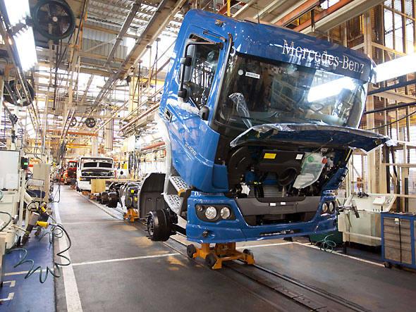 Produção de Caminhões pode crescer 25%